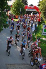 Foto: Romana Koeroesi / Mountainbike Tour / MTB Granitbeisser Marathon 5. September 2009 / 16.06.2009 12:26:53