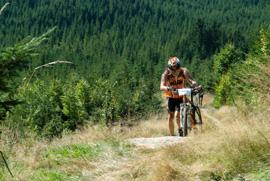 Foto: Romana Koeroesi / Mountainbike Tour / MTB Granitbeisser Marathon 5. September 2009 / 16.06.2009 12:26:33