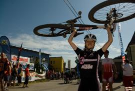 Foto: Romana Koeroesi / Mountainbike Tour / MTB Granitbeisser Marathon 5. September 2009 / 16.06.2009 12:26:45