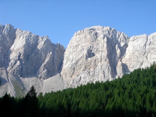 Foto: Manfred Karl / Klettersteig Tour / Hohe Warte – Weg der 26er - Überschreitung aus dem Wolayer Tal  / 17.07.2009 17:29:39