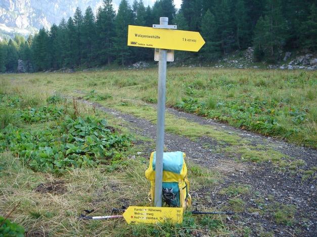 Foto: Manfred Karl / Klettersteig Tour / Hohe Warte – Weg der 26er - Überschreitung aus dem Wolayer Tal  / 17.07.2009 17:29:21