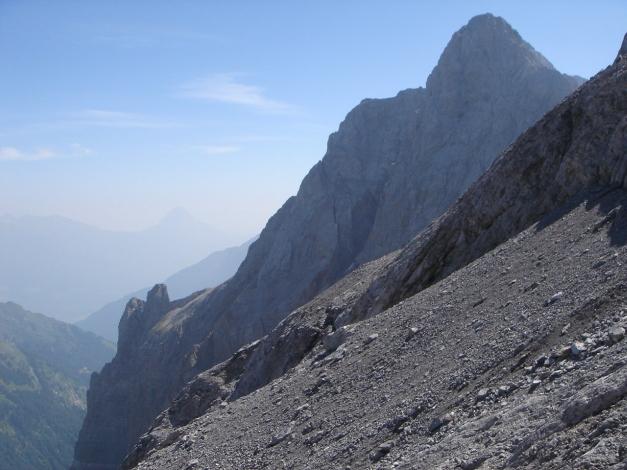 Foto: Manfred Karl / Klettersteig Tour / Hohe Warte – Weg der 26er - Überschreitung aus dem Wolayer Tal  / 17.07.2009 17:33:01