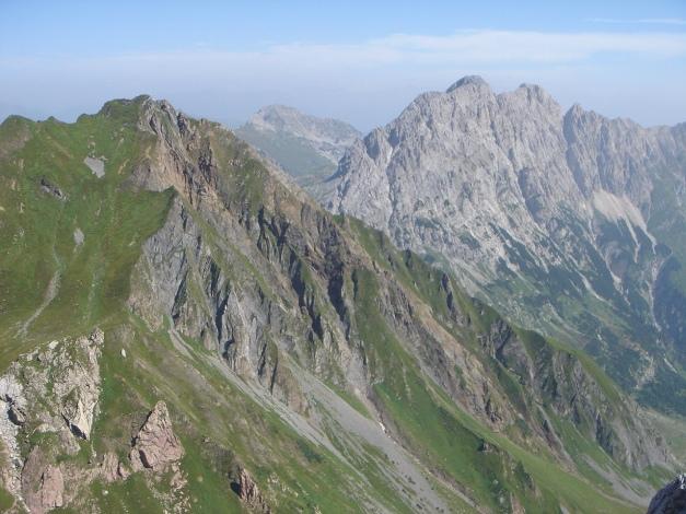 Foto: Manfred Karl / Klettersteig Tour / Hohe Warte – Weg der 26er - Überschreitung aus dem Wolayer Tal  / 17.07.2009 17:33:14