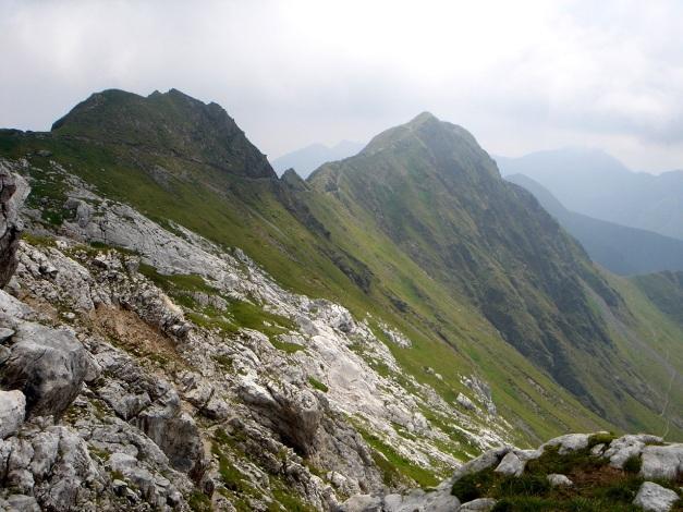 Foto: Manfred Karl / Klettersteig Tour / Hohe Warte – Weg der 26er - Überschreitung aus dem Wolayer Tal  / 17.07.2009 17:35:02