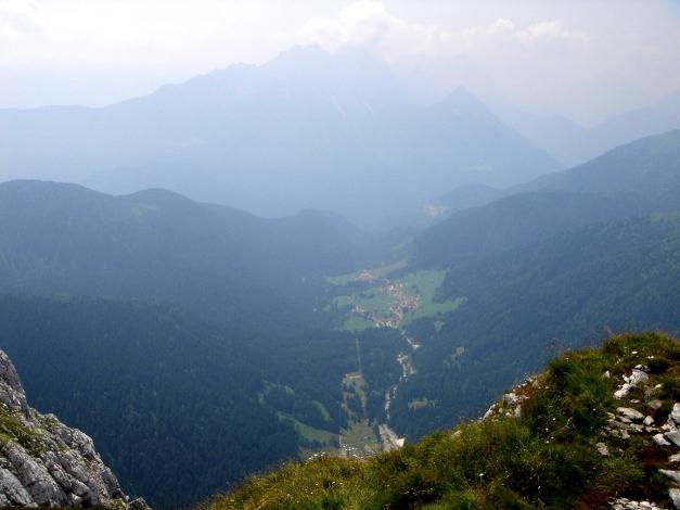 Foto: Manfred Karl / Klettersteig Tour / Hohe Warte – Weg der 26er - Überschreitung aus dem Wolayer Tal  / 17.07.2009 17:36:33