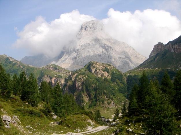 Foto: Manfred Karl / Klettersteig Tour / Hohe Warte – Weg der 26er - Überschreitung aus dem Wolayer Tal  / Seewarte / 17.07.2009 17:39:15