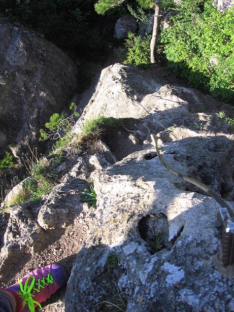 Foto: Andreas Koller / Klettersteig Tour / Mödlinger Klettersteig / Robert Karpfen Klettersteig (360m) / 20.06.2009 00:45:32