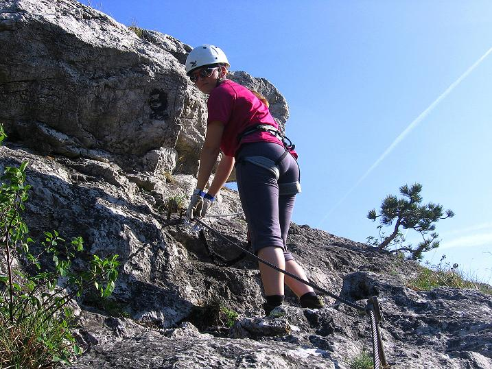 Foto: Andreas Koller / Klettersteig Tour / Mödlinger Klettersteig / Robert Karpfen Klettersteig (360m) / 20.06.2009 00:45:16