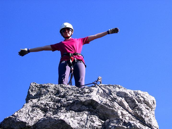 Foto: Andreas Koller / Klettersteig Tour / Mödlinger Klettersteig / Robert Karpfen Klettersteig (360m) / 20.06.2009 00:44:42