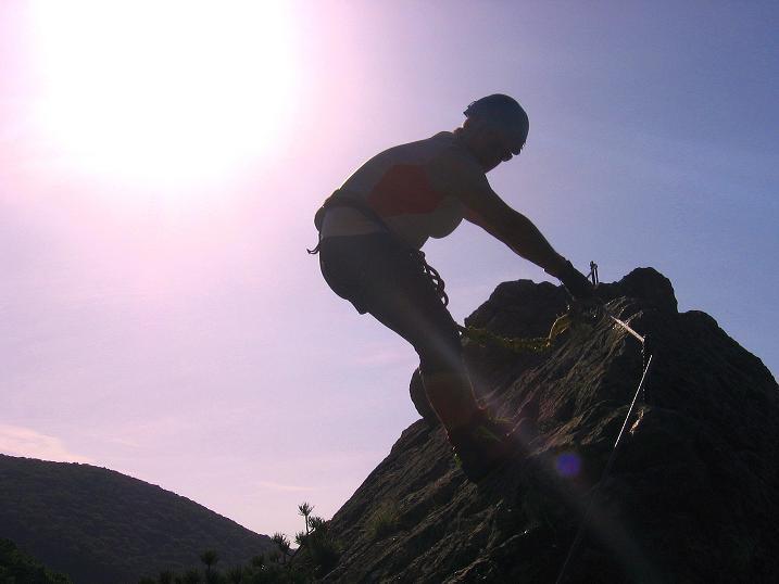 Foto: Andreas Koller / Klettersteig Tour / Mödlinger Klettersteig / Robert Karpfen Klettersteig (360m) / 20.06.2009 00:44:19
