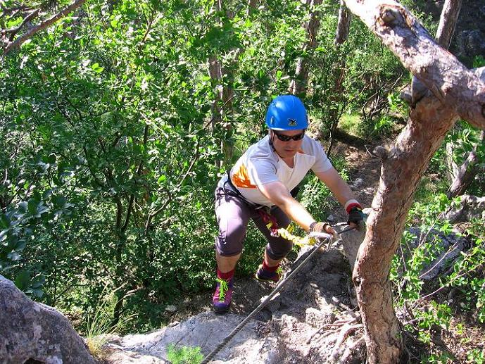 Foto: Andreas Koller / Klettersteig Tour / Mödlinger Klettersteig / Robert Karpfen Klettersteig (360m) / 20.06.2009 00:43:51