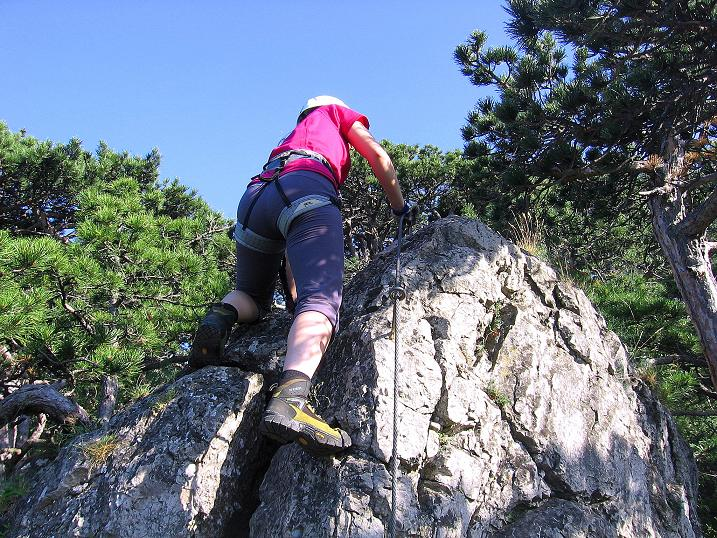Foto: Andreas Koller / Klettersteig Tour / Mödlinger Klettersteig / Robert Karpfen Klettersteig (360m) / 20.06.2009 00:42:44