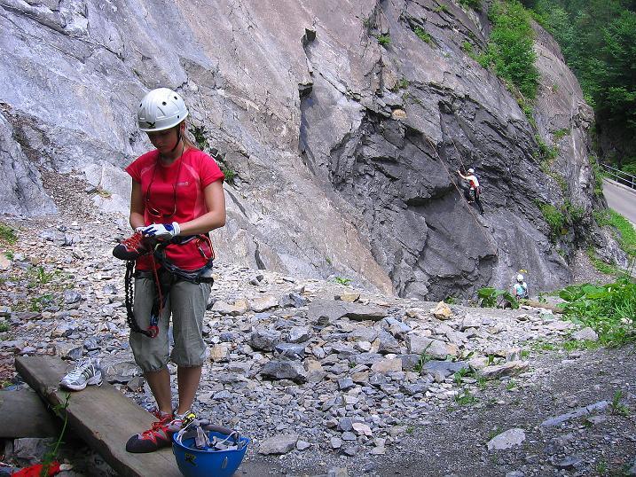 Foto: Andreas Koller / Klettersteig Tour / Raiffeisen Klettersteig Klammgraben (820m) / 22.06.2009 02:01:34
