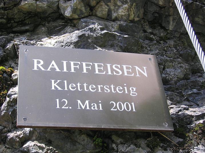 Foto: Andreas Koller / Klettersteig Tour / Raiffeisen Klettersteig Klammgraben (820m) / 22.06.2009 02:01:28