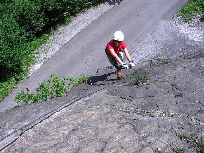 Foto: Andreas Koller / Klettersteig Tour / Raiffeisen Klettersteig Klammgraben (820m) / 22.06.2009 02:01:00