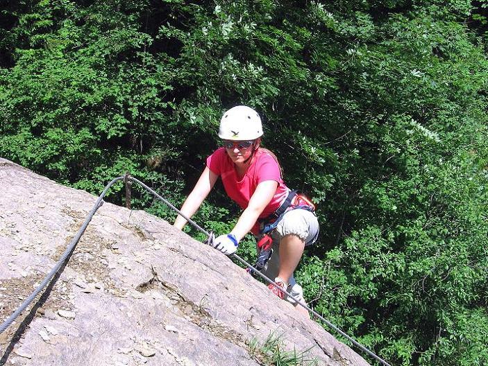 Foto: Andreas Koller / Klettersteig Tour / Raiffeisen Klettersteig Klammgraben (820m) / 22.06.2009 02:00:52