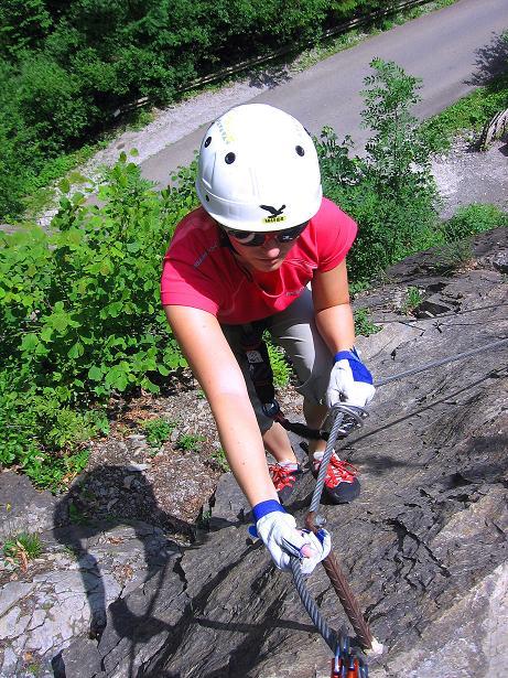 Foto: Andreas Koller / Klettersteig Tour / Raiffeisen Klettersteig Klammgraben (820m) / 22.06.2009 02:00:37