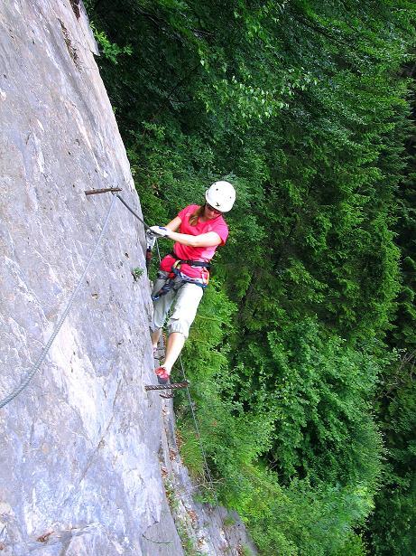 Foto: Andreas Koller / Klettersteig Tour / Raiffeisen Klettersteig Klammgraben (820m) / 22.06.2009 02:00:30