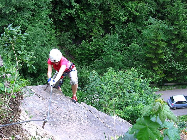 Foto: Andreas Koller / Klettersteig Tour / Raiffeisen Klettersteig Klammgraben (820m) / 22.06.2009 02:00:23