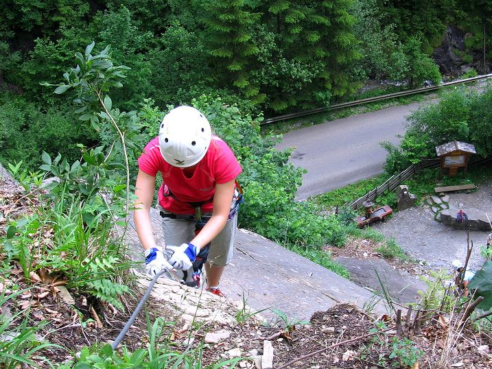 Foto: Andreas Koller / Klettersteig Tour / Raiffeisen Klettersteig Klammgraben (820m) / 22.06.2009 02:00:12