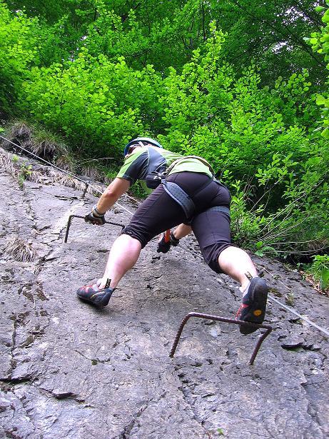 Foto: Andreas Koller / Klettersteig Tour / Raiffeisen Klettersteig Klammgraben (820m) / 22.06.2009 02:00:04