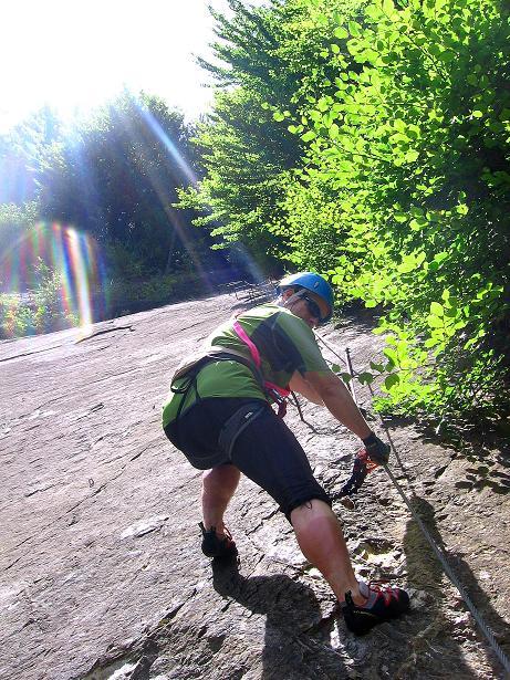 Foto: Andreas Koller / Klettersteig Tour / Raiffeisen Klettersteig Klammgraben (820m) / 22.06.2009 01:59:48