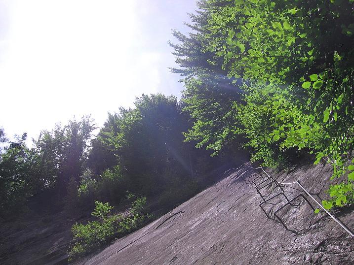 Foto: Andreas Koller / Klettersteig Tour / Raiffeisen Klettersteig Klammgraben (820m) / 22.06.2009 01:59:39