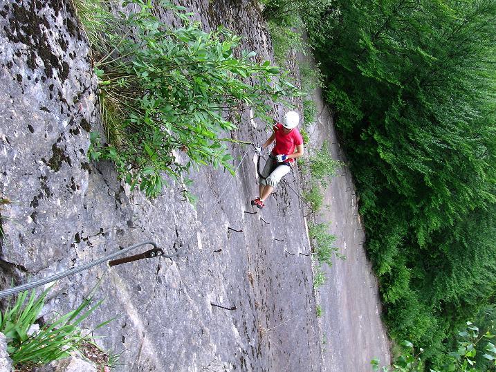 Foto: Andreas Koller / Klettersteig Tour / Raiffeisen Klettersteig Klammgraben (820m) / 22.06.2009 01:58:52