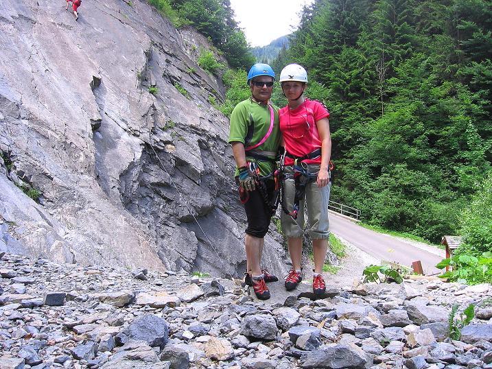 Foto: Andreas Koller / Klettersteig Tour / Raiffeisen Klettersteig Klammgraben (820m) / 22.06.2009 01:56:56