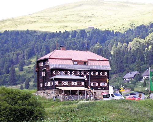 Foto: Samson / Rad Tour / Schönfeld-Katschberg-Runde / Mehrlhütte in Schönfeld / 30.06.2009 09:28:52