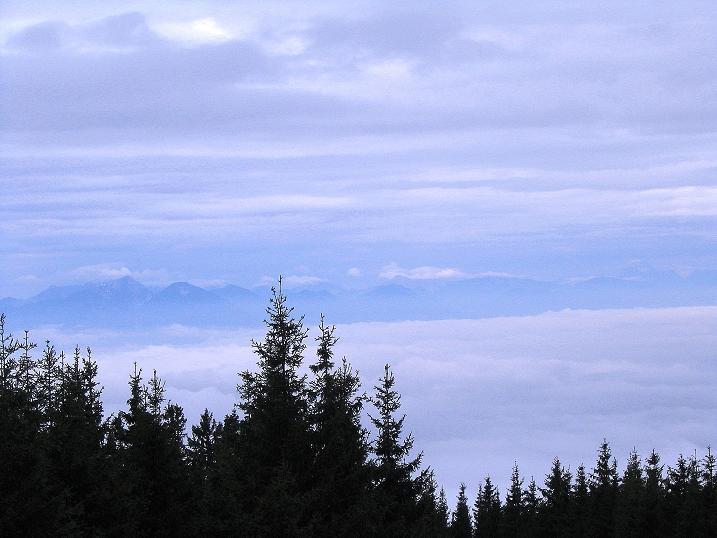 Foto: Andreas Koller / Wander Tour / Lavanttaler Impressionen auf der Koralpe (2140m) / Blick ins Klagenfurter Becken / 01.07.2009 01:23:31