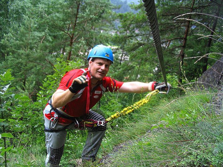 Foto: Andreas Koller / Klettersteig Tour / Klettersteig Dreifaltigkeit (467m) / 01.07.2009 01:31:46