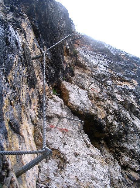 Foto: Andreas Koller / Klettersteig Tour / Klettersteig Dreifaltigkeit (467m) / 01.07.2009 01:31:38