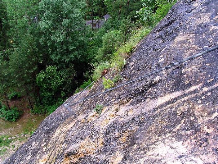 Foto: Andreas Koller / Klettersteig Tour / Klettersteig Dreifaltigkeit (467m) / 01.07.2009 01:31:30