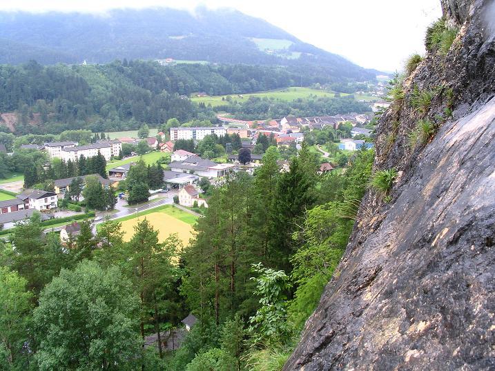 Foto: Andreas Koller / Klettersteig Tour / Klettersteig Dreifaltigkeit (467m) / Lavamünd / 01.07.2009 01:31:18