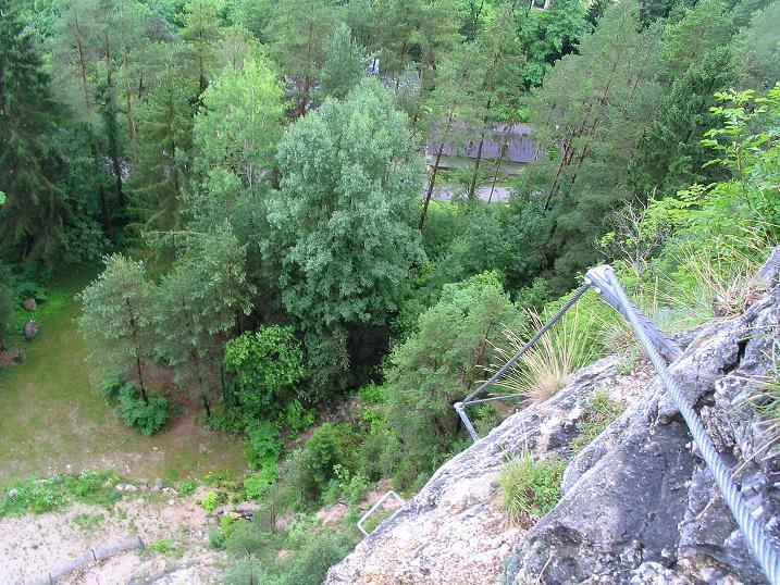Foto: Andreas Koller / Klettersteig Tour / Klettersteig Dreifaltigkeit (467m) / 01.07.2009 01:30:57