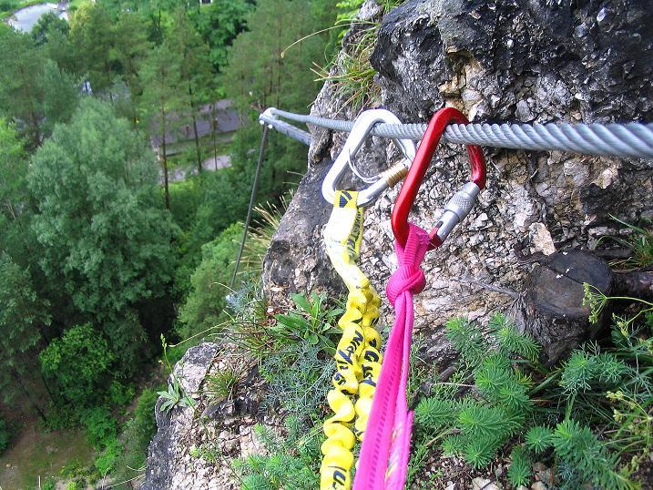 Foto: Andreas Koller / Klettersteig Tour / Klettersteig Dreifaltigkeit (467m) / 01.07.2009 01:30:49