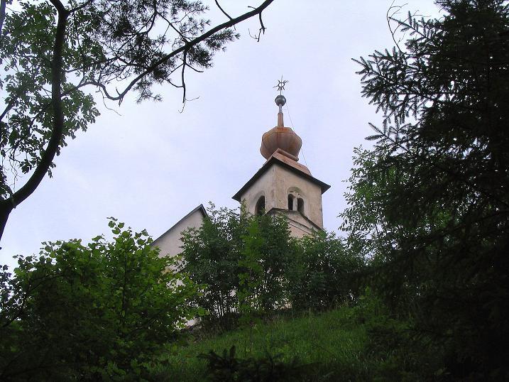 Foto: Andreas Koller / Klettersteig Tour / Klettersteig Dreifaltigkeit (467m) / Die Dreifaltigkeitskirche / 01.07.2009 01:30:19