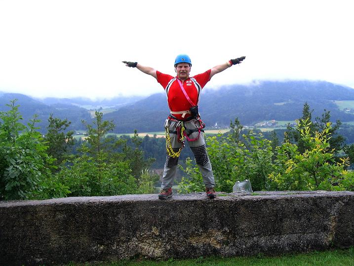 Foto: Andreas Koller / Klettersteig Tour / Klettersteig Dreifaltigkeit (467m) / 01.07.2009 01:29:56