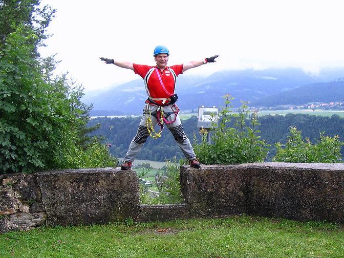 Foto: Andreas Koller / Klettersteig Tour / Klettersteig Dreifaltigkeit (467m) / 01.07.2009 01:29:32
