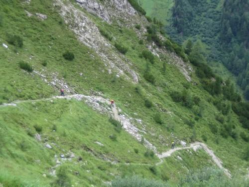 Foto: hofsab / Mountainbike Tour / Rund um den Olperer über Tuxer Joch (2338 m) - 3 Tagestour / im unteren Bereich / 26.08.2009 20:08:50