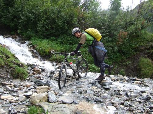 Foto: hofsab / Mountainbike Tour / Rund um den Olperer über Tuxer Joch (2338 m) - 3 Tagestour / Bachquerungen nicht ausgeschlossen / 26.08.2009 20:08:02