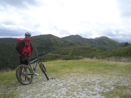 Foto: hofsab / Mountainbike Tour / Rund um den Olperer über Tuxer Joch (2338 m) - 3 Tagestour / alte Kriegsstraße auf 2000 - 2200 m Seehöhe / 26.08.2009 20:12:42
