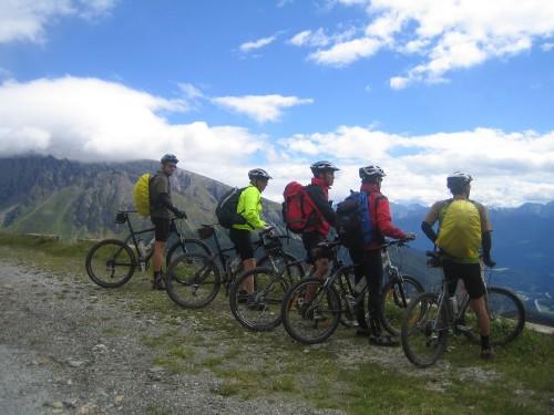 Foto: hofsab / Mountainbike Tour / Rund um den Olperer über Tuxer Joch (2338 m) - 3 Tagestour / Genuss der Aussicht / 26.08.2009 20:24:04