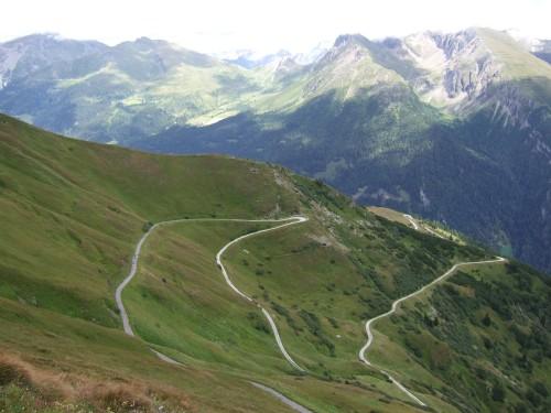 Foto: hofsab / Mountainbike Tour / Rund um den Olperer über Tuxer Joch (2338 m) - 3 Tagestour / Downhill vom Sandjöchl / 26.08.2009 20:25:26