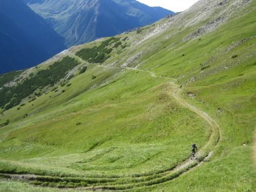 Foto: hofsab / Mountainbike Tour / Rund um den Olperer über Tuxer Joch (2338 m) - 3 Tagestour / 26.08.2009 20:31:39
