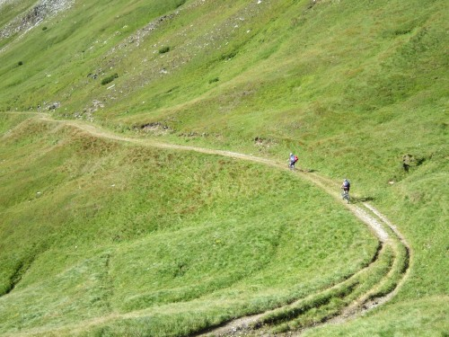 Foto: hofsab / Mountainbike Tour / Rund um den Olperer über Tuxer Joch (2338 m) - 3 Tagestour / was soll man da noch sagen / 26.08.2009 20:32:00