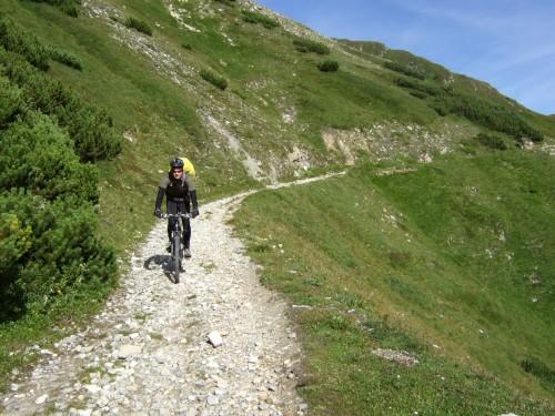 Foto: hofsab / Mountainbike Tour / Rund um den Olperer über Tuxer Joch (2338 m) - 3 Tagestour / besser gehts nicht / 26.08.2009 20:32:18