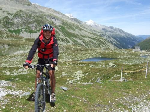 Foto: hofsab / Mountainbike Tour / Rund um den Olperer über Tuxer Joch (2338 m) - 3 Tagestour / am Pfitscher Joch / 26.08.2009 20:39:54