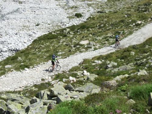 Foto: hofsab / Mountainbike Tour / Rund um den Olperer über Tuxer Joch (2338 m) - 3 Tagestour / einzigartiger Singeltrail / 26.08.2009 20:40:14